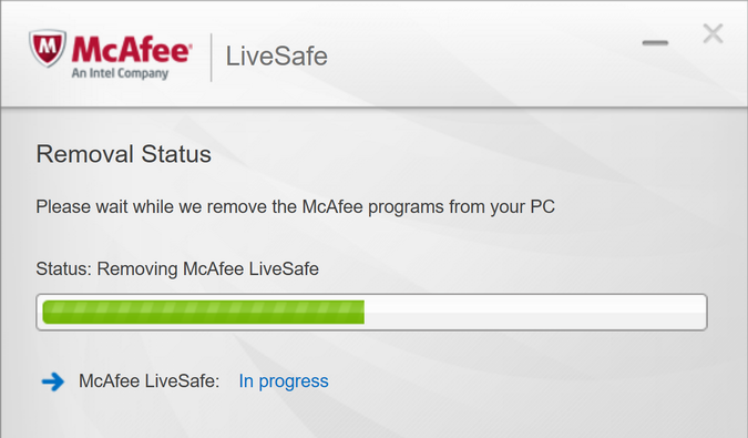 How to Uninstall McAfee Livesafe