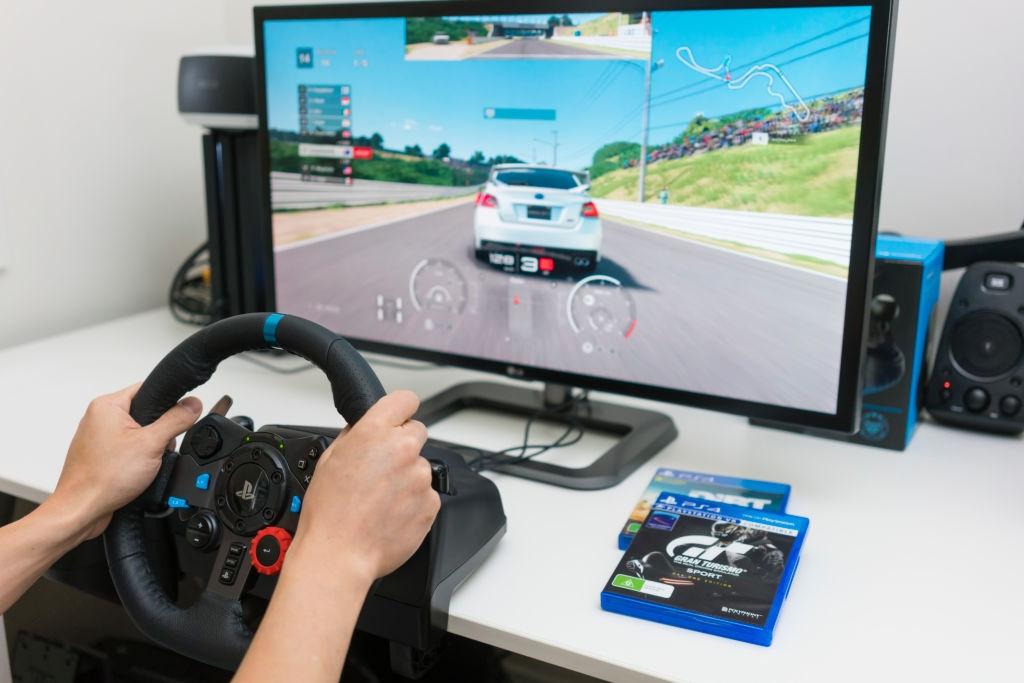 video game steering wheel 2020