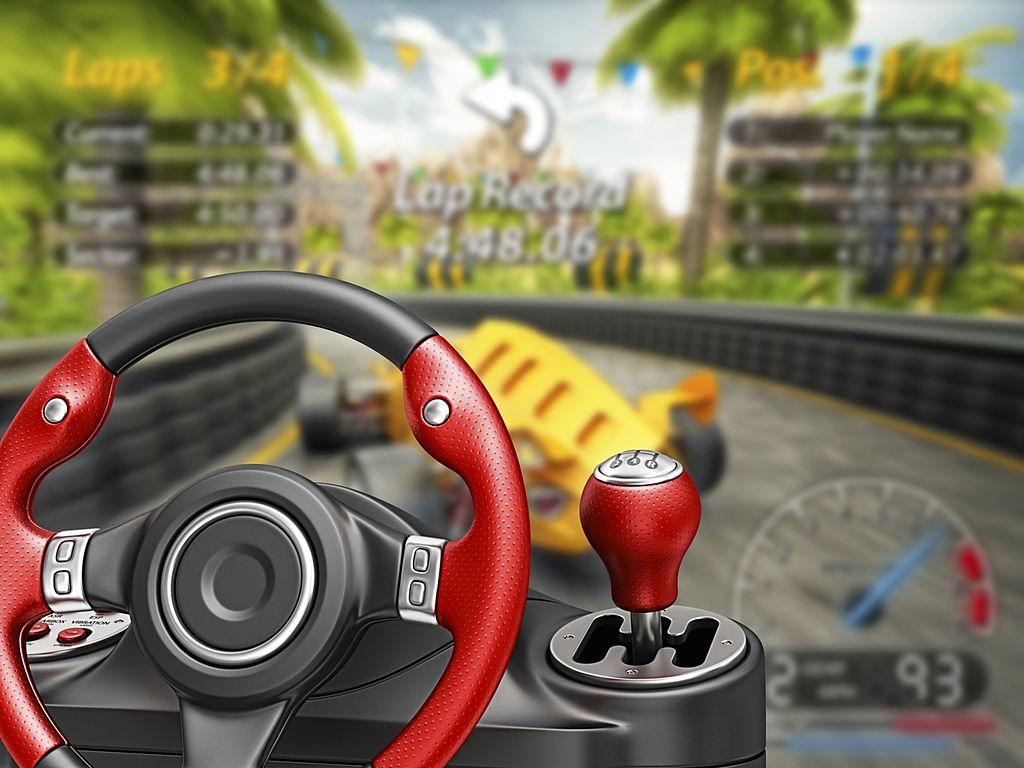 video game steering wheel buy online